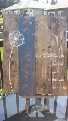 My wish for you is that this life becomes all that you want it to… Such an inspiring quote to give to love ones and remember for yourself… you are