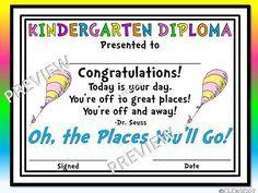 Voorschoolse Afstuderen Badge  Diploma    Graduation