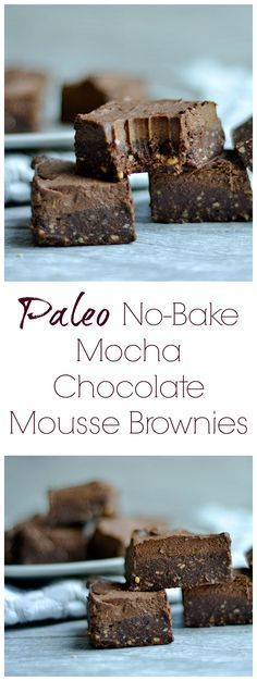 These raw layered brownies are a delicious treat without the guilt! Refined sugar-free, Vegan, Raw, Paleo, and so delicious!!