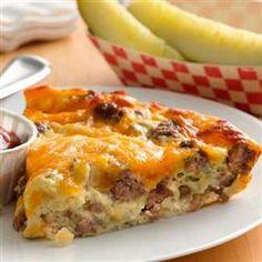 Impossibly Easy Cheeseburger Pie Allrecipes.com
