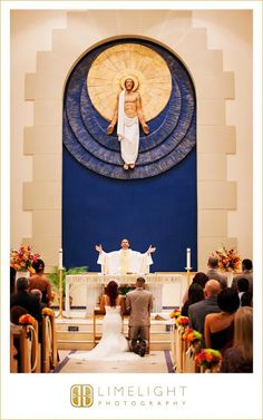 Catholic Wedding Ceremony,  Blessing, Communion, Prayer, www.stepintothelimelight.com
