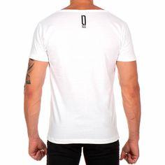 53740e6b64d Camiseta Lucas Lunny T Shirt Gola Canoa Estampada Caveira Fone Som Branco