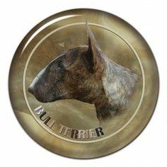 Bullterrier 3D sticker - #bullterrier #bullterrierlove