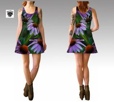 Garden Variety Icon-e   Dresses by WeeDogWearableArt on Etsy
