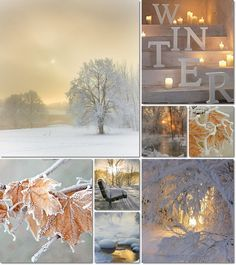 collage winter by AT
