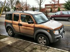 Honda element woodie