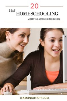 From free lessons to educational videos, experiments, games, and activities, these 20 sites provide some amazing resources for any family interested in teaching kids at home. Piano Lessons For Kids, Education Middle School, Learning Resources, Homeschooling Resources, Learning Tools, Student Success, Educational Videos, Home Schooling, Worksheets For Kids