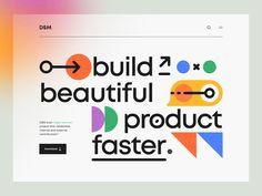 Weekly Design Inspiration #294 - Muzli - Design Inspiration Web Portfolio, Header, Hero, Graphic Design, Ui Ux Design, Layout Design, Design Trends, Banner, Branding