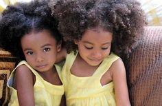 Awwww cuteness - http://www.blackhairinformation.com/community/hairstyle-gallery/kids-hairstyles/awwww-cuteness/ #naturalkids #kinkycurlyhair #cutebabies