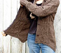 Rime's the Reason cardigan : Knitty Winter 2012