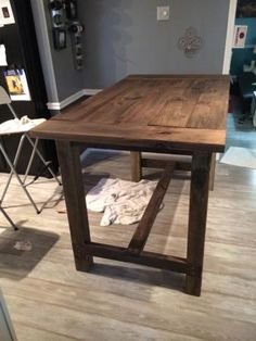 Farm House Bar Table | Do It Yourself Home Projects from Ana White
