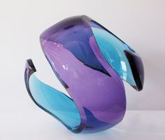 morgan contemporary glass gallery - Images for Richard Silver - Purple & Teal Tourmaline