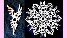 Creative Ideas - DIY Beautiful Paper Snowflakes from Templates | iCreativeIdeas.com