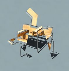 Deconstructing My Wassily Chair | Michael Jantzen | Archinect