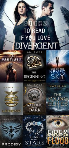 Books To Read If You Love Divergent.