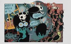 Ten Deadly Tasks - Page 38 - Ten Deadly Tasks Comic Books, Artists, Comics, Cartoons, Cartoons, Comic, Comic Book, Comics And Cartoons, Artist