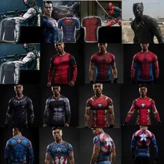 Marvel superhero 3d compression #sport top #t-shirt long short sleeve men #clothi,  View more on the LINK: 	http://www.zeppy.io/product/gb/2/152274977957/