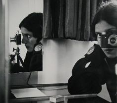 "Ilse Bing.   Self-Portrait in Mirrors.1931.   Gelatin silver print, 10 1/2 x 12"" (26.8 x 30.8 cm).   The Museum of Modern Art, New York. Joseph G. Mayer Fund. © 2010 The Ilse Bing Estate/Courtesy Edwynn Houk Gallery"
