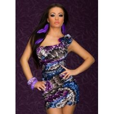One-shoulder Mini Dress With Feather-Print Sexy Sexy Sexy Dress Clubwear Cheap Dresses, Sexy Dresses, Fashion Dresses, Prom Dresses, Mini Dresses, Bandage Dresses, Summer Dresses, Mini Dress Clubwear, Clubwear Dresses