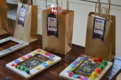 Wonka Party - Thanks Creative Little Stars for an awesome printable party - https://www.etsy.com/transaction/139981603?ref=fb2_tnx_title
