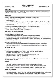 parsons energy and chemical engineer resume sample httpresumesdesigncom - Chemical Engineer Sample Resume