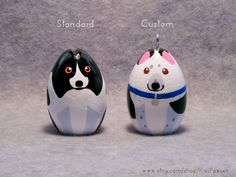 Custom dog ornaments! I want to get one of these omg