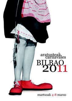 Propuesta de cartel de Carnavales de Bilbao