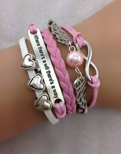 Angel Wing Quoted Bracelet