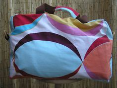 Tutorial: funky travel bag. . .(pictures) - PURSES, BAGS, WALLETS