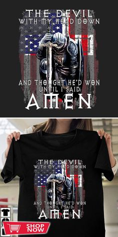 You can click the link to get yours. The Devil Saw Me Thought He'D Won. Knight Templar tshirt for Crusader and Knight Templar Lovers. We brings you the best Tshirts with satisfaction. Crusaders, Knights Templar, Inspirational Gifts, Devil, Shop Now, Lovers, Defenders, Thoughts, Hoodies
