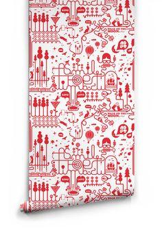 Timbuctu Wallpaper by Milton & King | BURKE DECOR