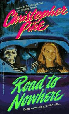 """Christopher Pike books - this cover totally cracks me up.  I know I read this one - I remember the goofy cover, but I remember almost NOTHING about his books aside from """"Teens die!  Sometimes by ghosts and sometimes by homicidal classmates!"""""""