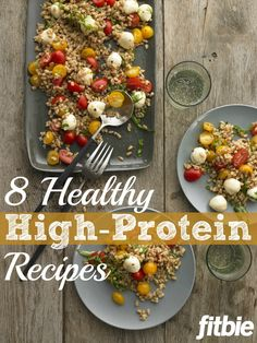 These recipes for all-day #protein will encourage lean-muscle growth and power you through 'til bedtime. | Fitbie.com