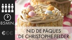 The Easter Nest of Christophe Felder for 8 people - Recipes Elle à Table - gateaux - Gateau Christophe Felder, Cereal, Breakfast, Elle, Food, Recipes, Cooking Recipes, Easter, Morning Coffee