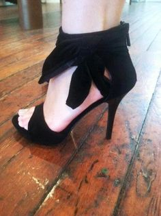 suede ankle cuff heels