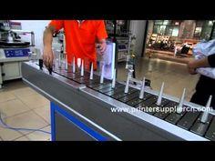 Flat & Round Flaming Treatment Machine