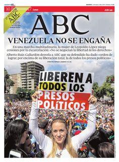 La portada de ABC del martes 11 de julio