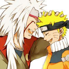 Jiraiya & Naruto | ナルトと自来也先生とキスの日だってばよ! | チエ [pixiv] http://www.pixiv.net/member_illust.php?mode=medium&illust_id=44096441