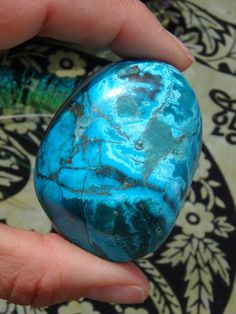 BRIGHT ROBIN EGG BLUE SWIRLS CHRYSOCOLLA SPECIMEN  NEW In the SHOP HERE: