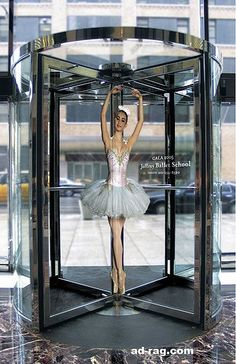 Ballet School Revolving Door
