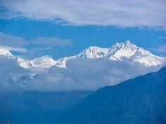 Scene from the balcony,Chiminda International Hotel, Pelling, Sikkim