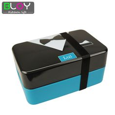 Japanese Style 2 Layer Lunch Box Belt Bento lunch box sushi box lunchbox food container for adult 730ml #clothing,#shoes,#jewelry,#women,#men,#hats,#watches,#belts,#fashion,#style