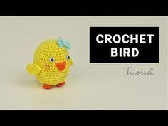 Crochet Amigurumi Bird | Croby Patterns - YouTube