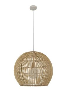 Herman 1 Light 500mm Round Pendant in Natural