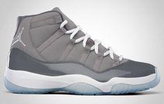 Air Jordan XI Cool Grey ... Absolutely my favorite pair of j's... Gotta find them