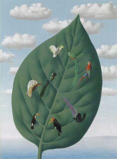 René Magritte,  The Third Dimension, 1942
