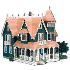Greenleaf Dollhouses Garfield Dollhouse Kit