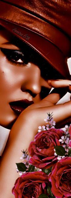 My Flower, Flowers, Love Rose, Her Hair, Thailand, Magazine, Purple, Hats, Red
