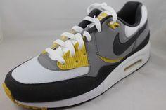 Nike Air Max Light Sample Mens Running Shoes 599501-400 Sz 9 White Grey Sample #Nike #AthleticSneakers