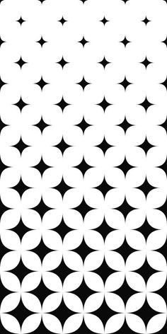 Quadros decorativos Star Patterns, White Patterns, Monochrome Pattern, White Pattern Background, Vector Background, Vector Graphics, Minimal, Surface, Graphic Design